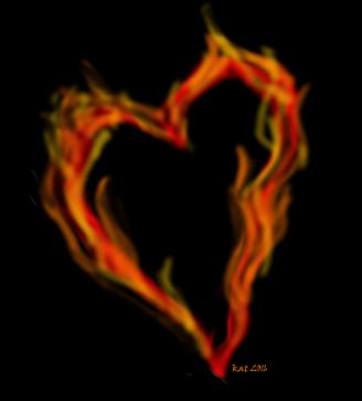 flamingheart