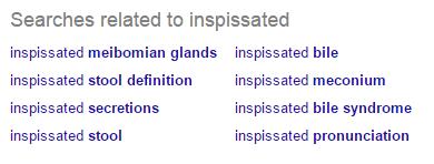 inspissated