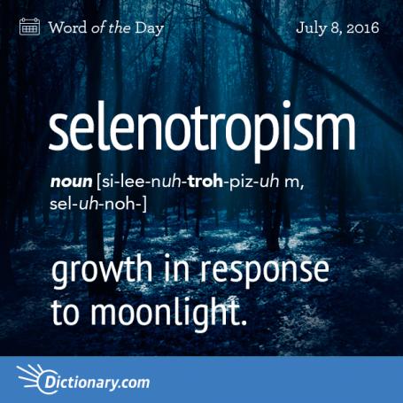 selenotropism