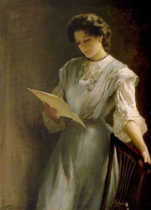 thomas-benjamin-kennington-xx-reading-the-letter-xx-private-collection
