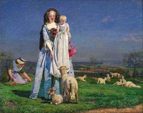 Ford_Madox_Brown_-_Pretty_Baa-Lambs_-_Google_Art_Project